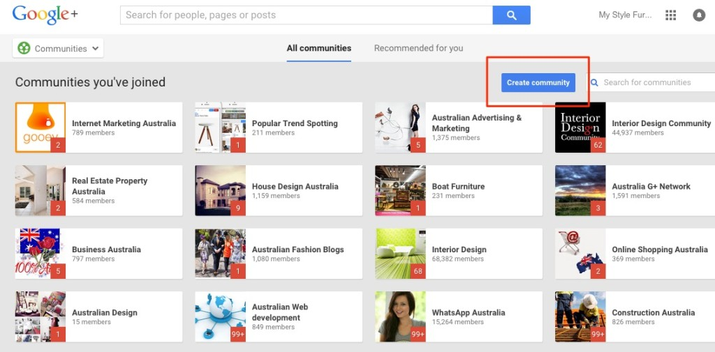 google+communitystream