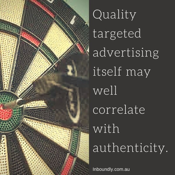 Targetted advertsing