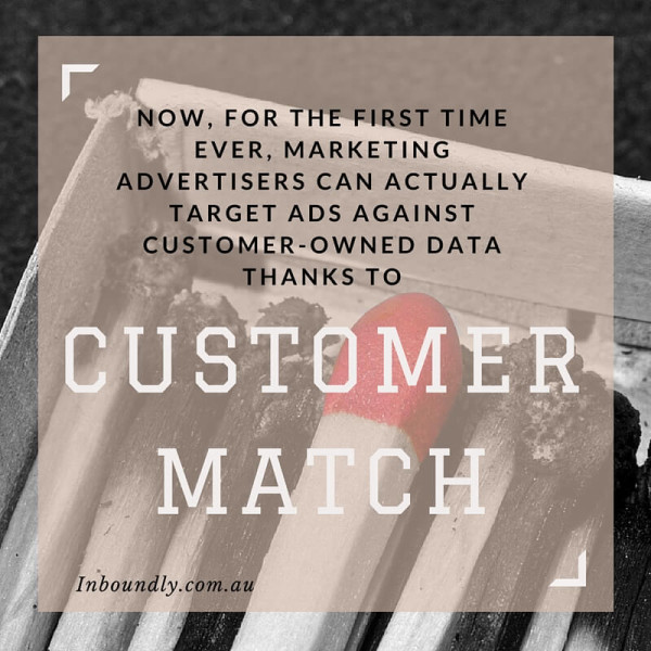 Customer Match Boost Targeted Marketing